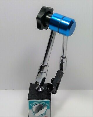 Holds Upto 5lbs Power-TEC Magnetic Base Paint Clamp Flexible Shaft