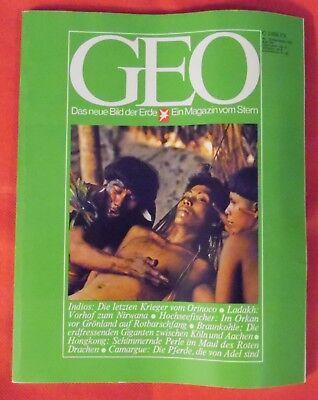GEO 1976 Nr 12 , Ladakh Hochseefischer Indios Braunkohle Hongkong Camargue