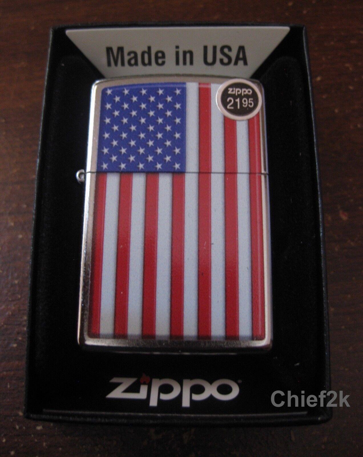 Zippo Lighter Patriotic 29722 Flag USA