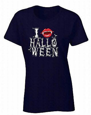 Halloween Shirt WOMENS T-SHIRT I Fangs Halloween Costume Vampire - Vampire Clothing For Women