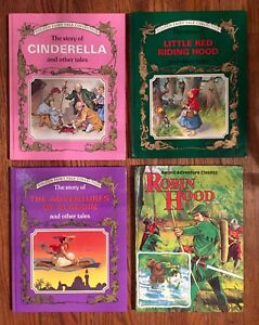 Golden Fairy Tale books
