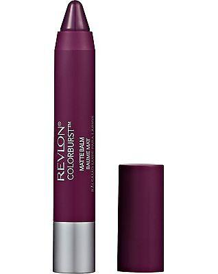 REVLON Colorburst MATTE Balm - 215 SHAMELESS - 2.7g Sealed -