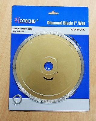 7 Diamond Blade Wet Continuous