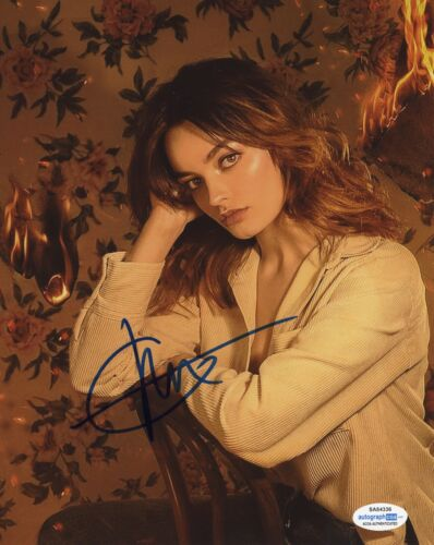 Emma Mackey Sex Education Autographed Signed 8x10 Photo COA