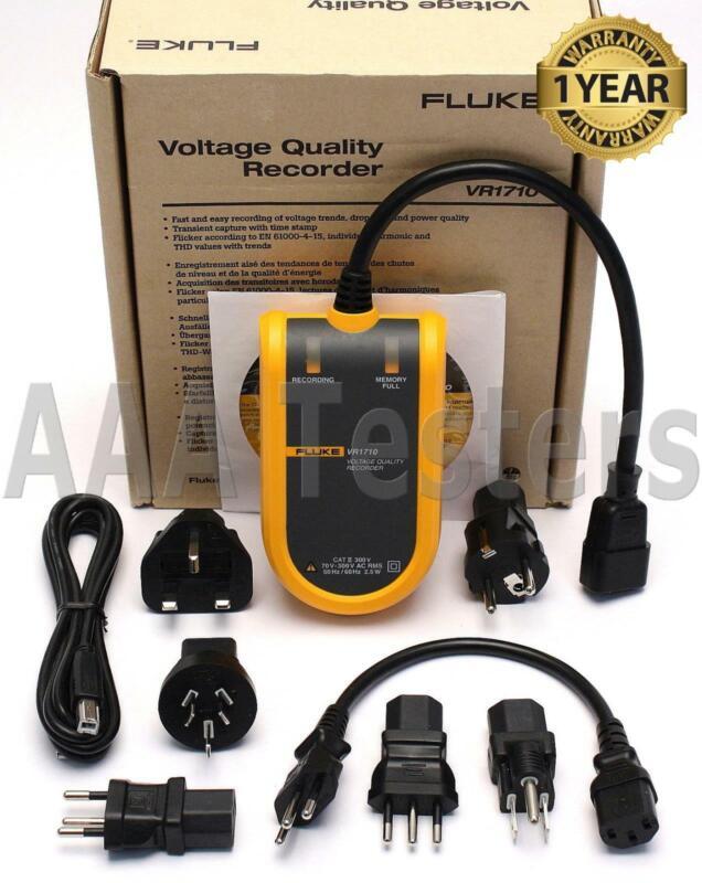 Fluke VR1710 Single Phase Voltage Power Quality Recorder VR 1710 VR-1710