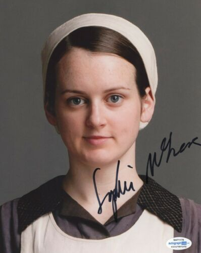 Sophie McShera Downton Abbey Autographed Signed 8x10 Photo COA