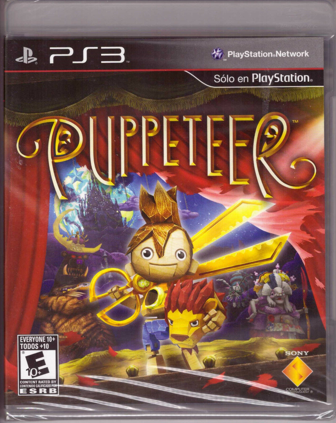 Puppeteer [PlayStation 3 PS3, Platformer, Sony Exclusive ...
