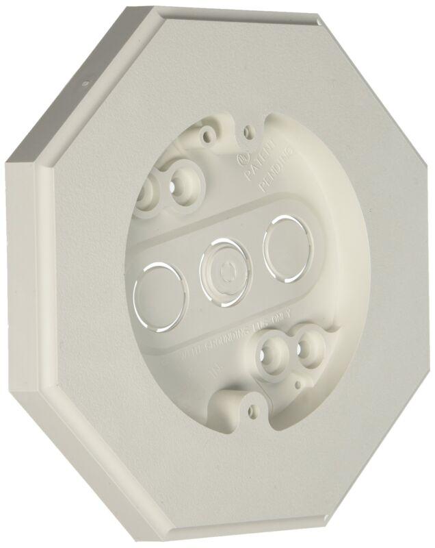 Arlington 8161 Vertical Siding Lamp Mounting Kit w/ Built-In Box-Flat Surface
