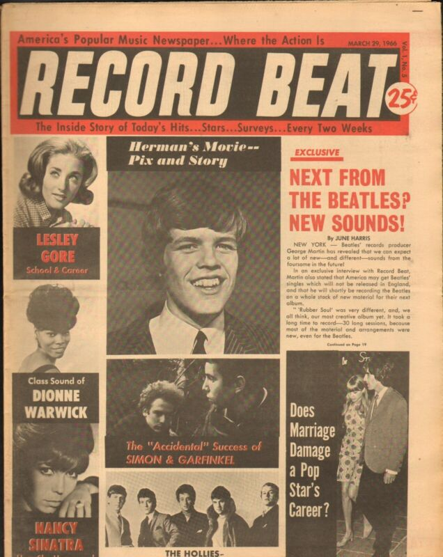 Record Beat Paper-March 29 1966 Herman