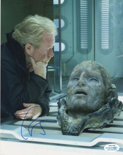 Ridley Scott Alien Autographed Signed 8x10 Photo ACOA 2020-1