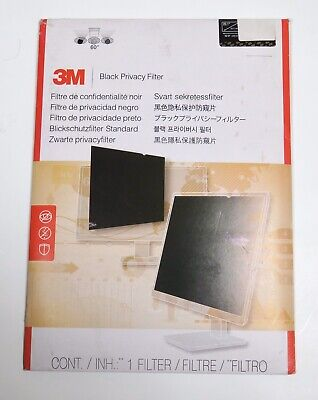 """3M Blackout Frameless Privacy Filter for 20.1"""" LCD Monitor / Glossy And Matte"""