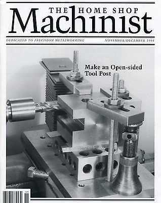 Home Shop Machinist Magazine Vol.13 No.6 November/December 1994
