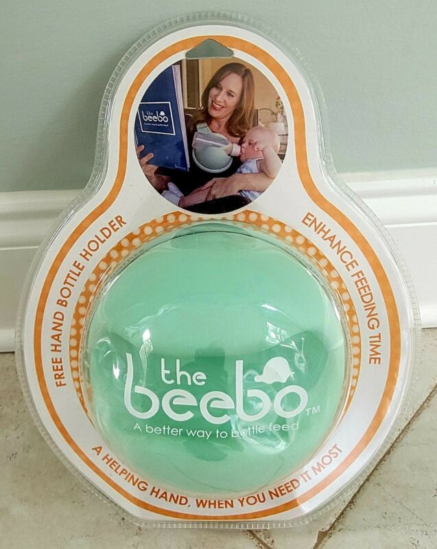 The Beebo Free Hand Bottle Holder in Teal- New