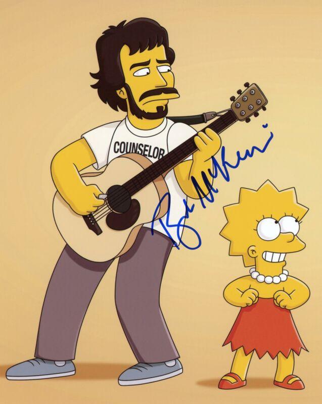 "Bret McKenzie ""The Simpsons"" AUTOGRAPH Signed 'Kurt' 8x10 Photo ACOA"
