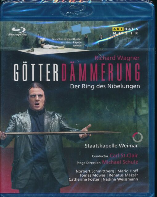 Richard Wagner Gotterdammerung Bluray Blu-ray NEW Nibelung Staatskapelle Weimar