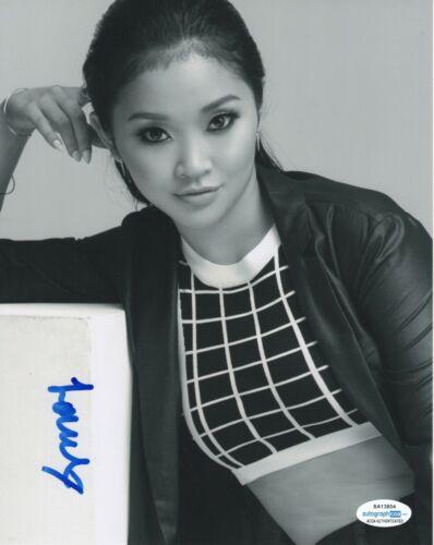Lana Condor To All The Boys Autographed Signed 8x10 Photo ACOA #2