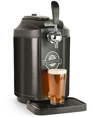 Vintage Home Kitchen Beer Growler Glass Brewing Bottle Tap Dispenser Bar Brewery