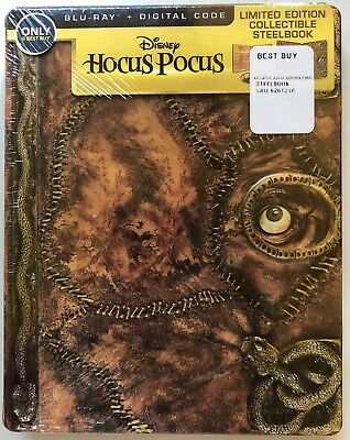 NEW DISNEY HOCUS POCUS BLU RAY DIGITAL BEST BUY EXCLUSIVE STEELBOOK RARE OOP](Best Halloween Comedy Movies)