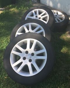 "15"" Honda Civic Rims & Tires"