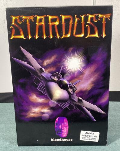 Computer Games - Commodore Amiga Stardust PC Computer Video Game w/ Manual & Box
