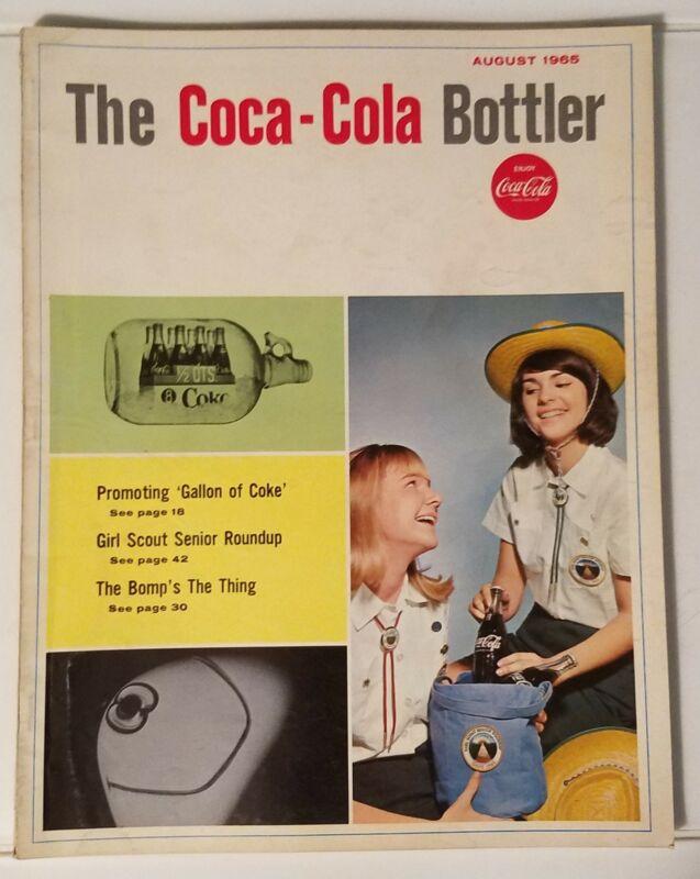THE COCA-COLA BOTTLER - VINTAGE MAGAZINE - AUGUST 1965