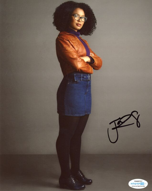 "Jaz Sinclair ""Chilling Adventures of Sabrina"" AUTOGRAPH Signed 8x10 Photo ACOA"