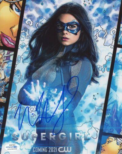 Nicole Maines Supergirl Autographed Signed 8x10 Photo ACOA
