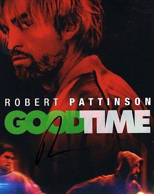 Robert Pattinson Good Time Hand Signed 8X10 Photo Coa Autographed Look