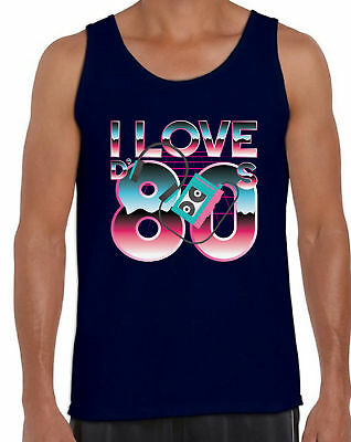 80s Workout Tanks 80s Clothes for Men 80s Party Theme Tank Tops 80s Accessories
