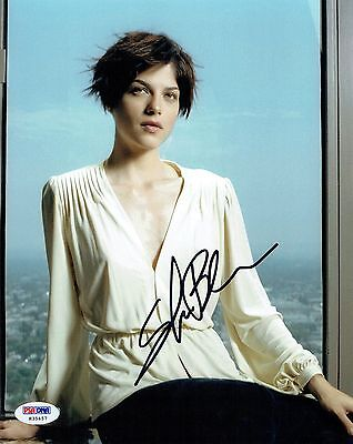 Selma Blair Signed Hellboy Authentic Autographed 8X10 Photo Psa Dna  H35457