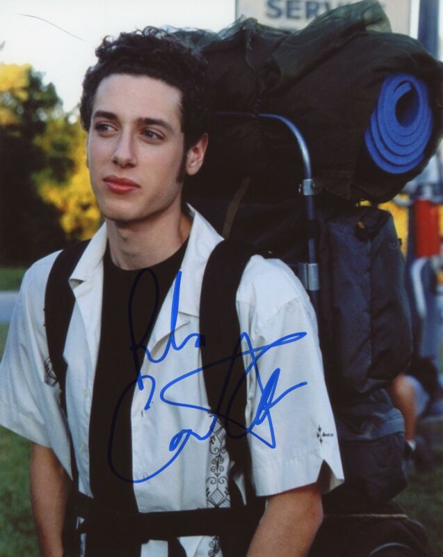 "Paulo Costanzo ""Road Trip"" AUTOGRAPH Signed 8x10 Photo ACOA"