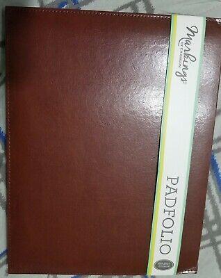 Brown Leather Padfolio