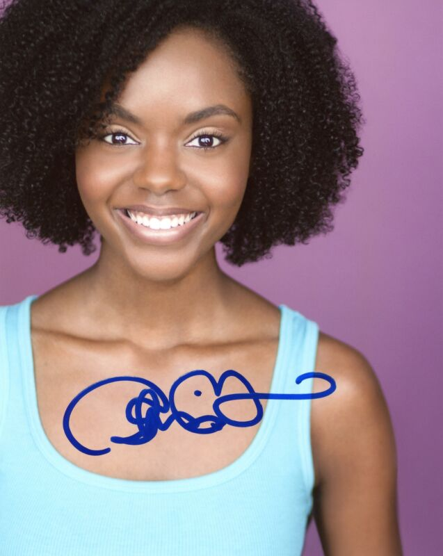 "Ashleigh Murray ""Riverdale"" AUTOGRAPH Signed 'Josie McCoy' 8x10 Photo ACOA"