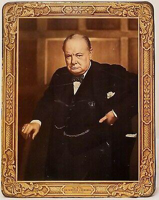 Vintage/Classic Winston Churchill TinHuntley & Palmers Reading & London England