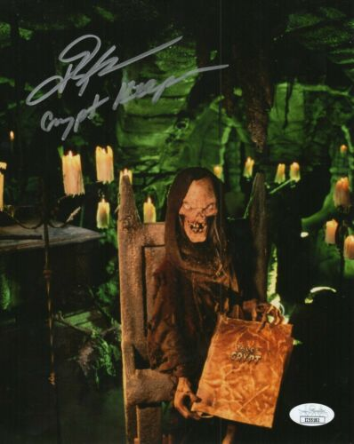 John Kassir Autograph Signed 8x10 Photo - Tales From the Crypt (JSA COA)