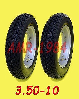 KIT 2 GOMME VESPA PX 125/200  RUOTE MONTATE e GONFIATE + CERCHI + CAMERA 9912001