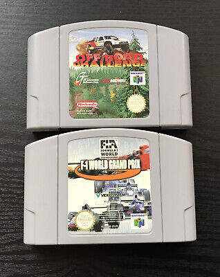 2 N64 RACING GAMES, OFF ROAD CHALLENGE AND F-1 WORLD GRAND PRIX, GAMES ONLY