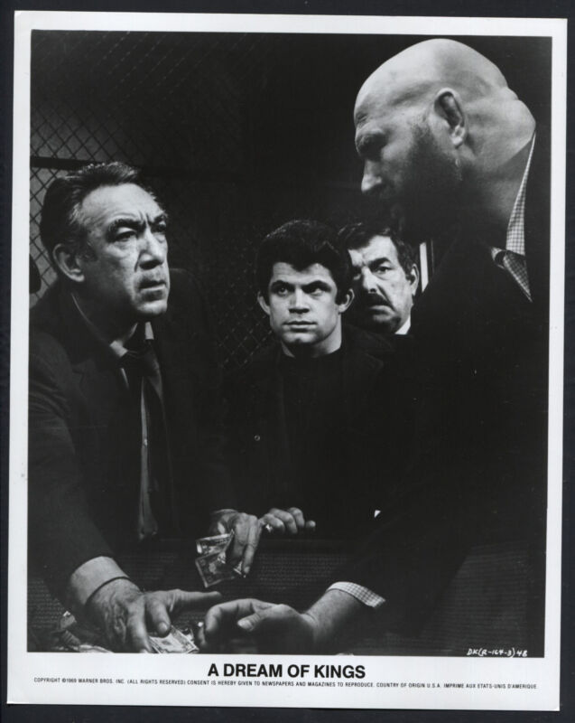 A Dream Of Kings '69 ANTHONY QUINN PETER MAMAKOS HB HAGGERTY