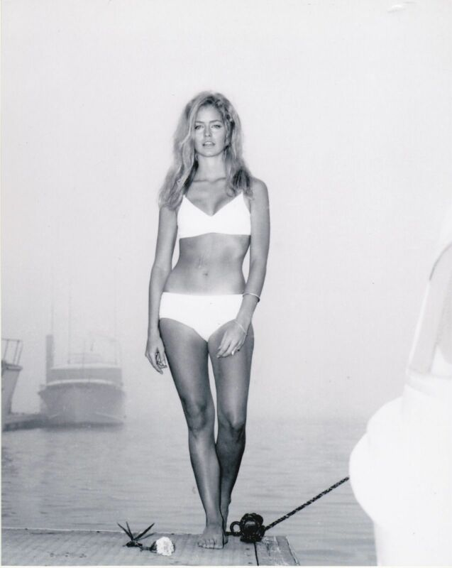 Farrah Fawcett Charlies Angels Black And White  8x10 Photo Print