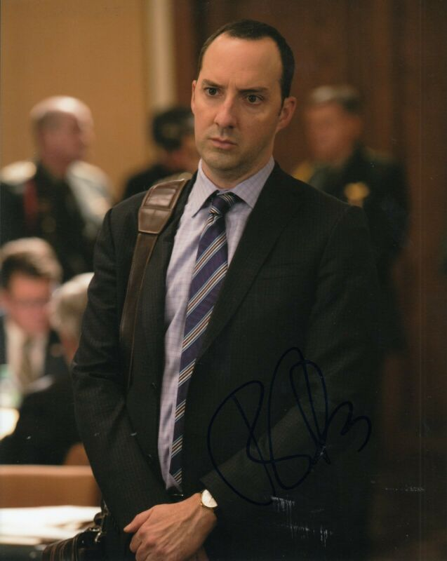 TONY HALE signed (VEEP) TV show 8X10 photo *Gary Walsh* autographed W/COA #2