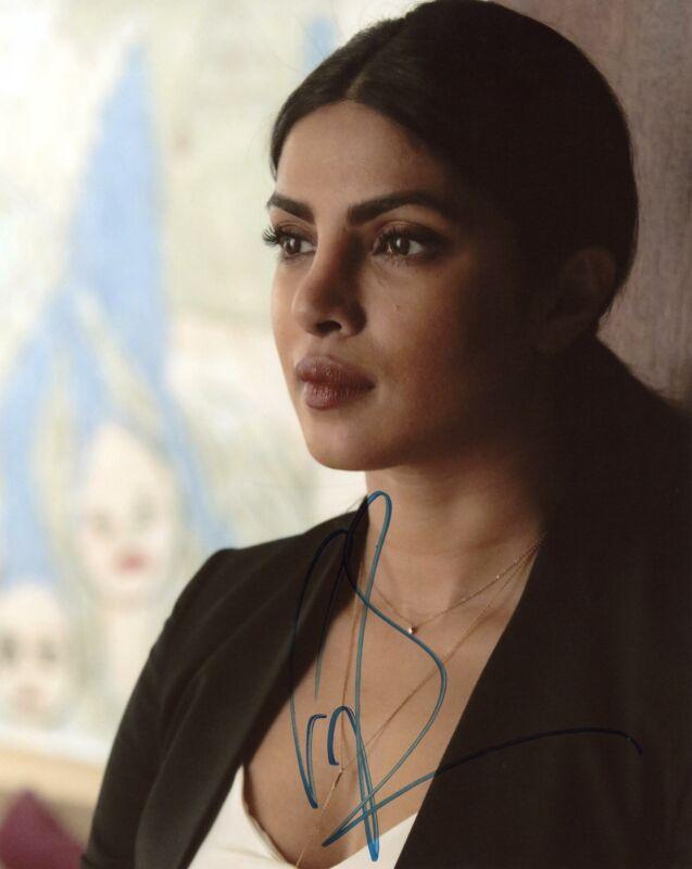 "Priyanka Chopra ""Quantico"" AUTOGRAPH Signed 8x10 Photo J ACOA"