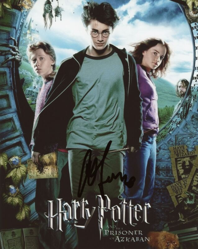 "Alfonso Cuaron ""Harry Potter"" Director AUTOGRAPH Signed 8x10 Photo C ACOA"