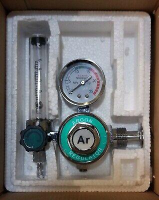 Argon Regulator With Flowmeter Tig Welder Mig Welding Co2 Regulator New
