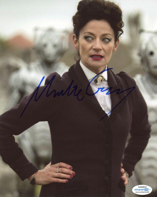 "Michelle Gomez ""Doctor Who"" AUTOGRAPH Signed 8x10 Photo B ACOA"