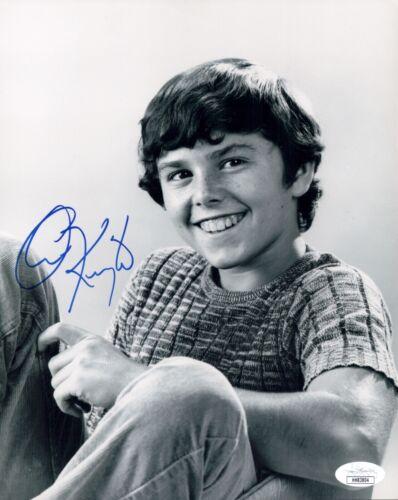 CHRISTOPHER KNIGHT Signed 8X10 THE BRADY BUNCH Photo Autograph JSA COA Cert