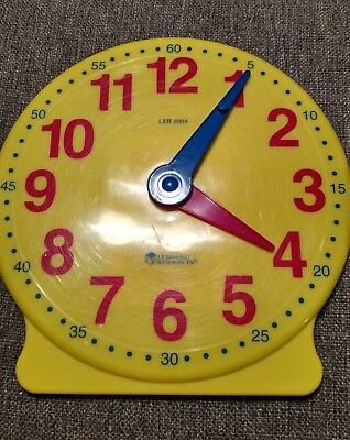 - Learning Resources Big Time Student Clock - Gear function - Teach Home or School