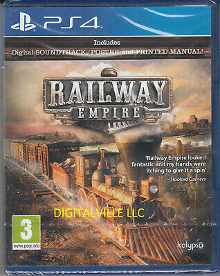 Railway Empire PS4 Sony PlayStation 4 Brand New Factory Sealed