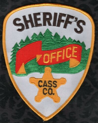 👀😜😆👍  Cass County Minnesota Sheriff Shoulder Patch
