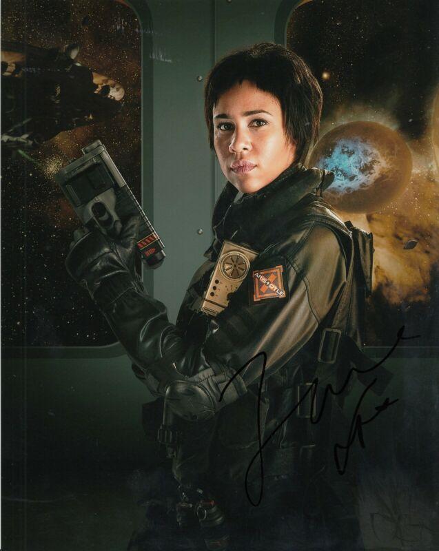ZAWE ASHTON signed (DOCTOR WHO) 8X10 photo *Journey Blue* autographed W/COA #2