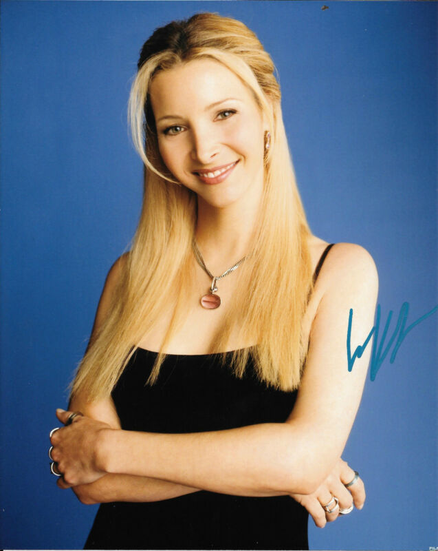 GFA Friends Phoebe Buffay * LISA KUDROW * Signed 8x10 Photo COA